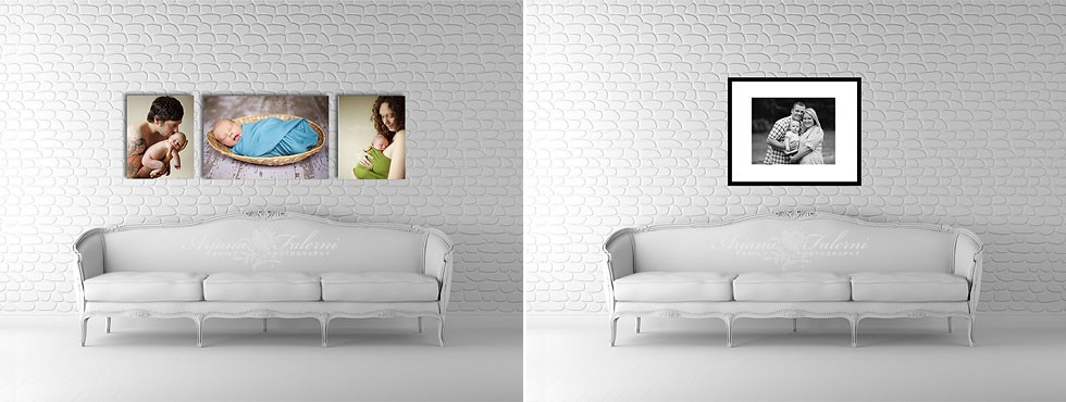 Wall display guides ariana falerni design - Photo wall display template ...