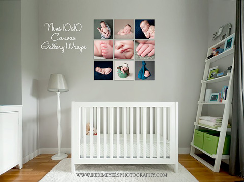 Nursery Wall Display Guides Amp Virtual Room Scenes For