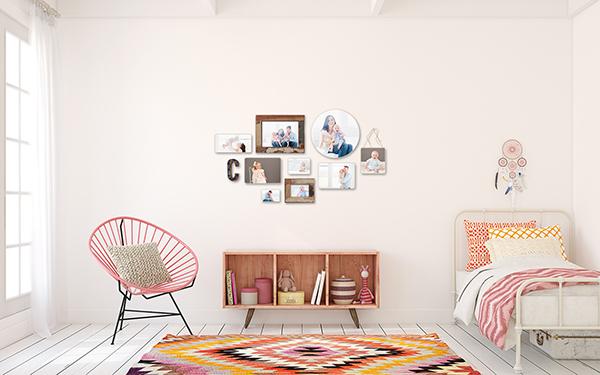 Photoblocks Wall Display Guides Amp Virtual Room Scenes