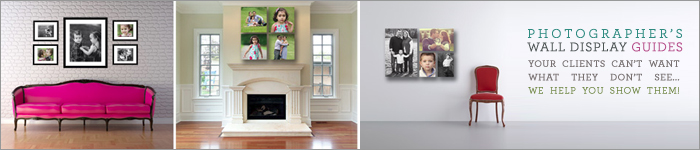 Photographer's Wall Display Templates