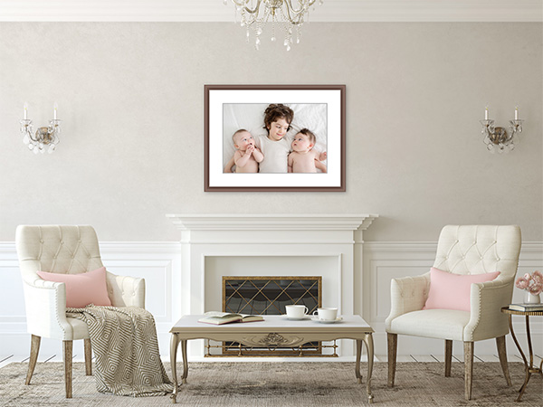 Fireplace Framed Image