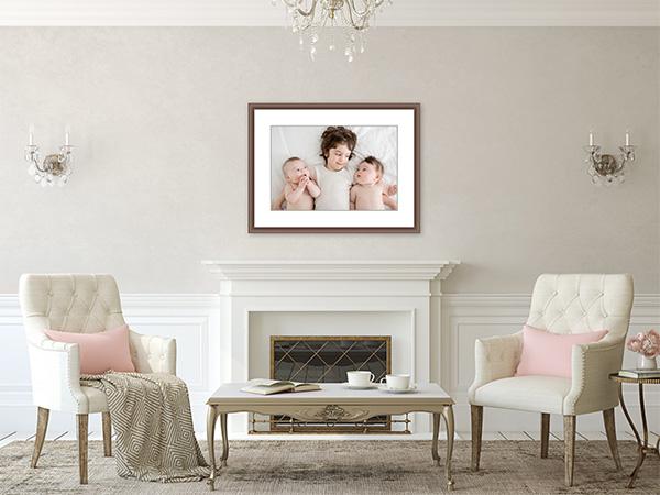 Fireplace Framed Image