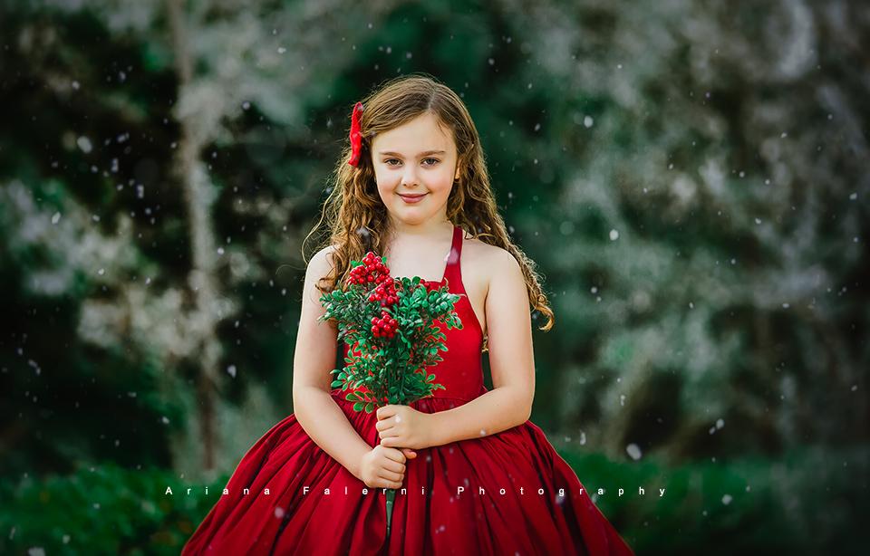 Winter magic photoshoot westlake village