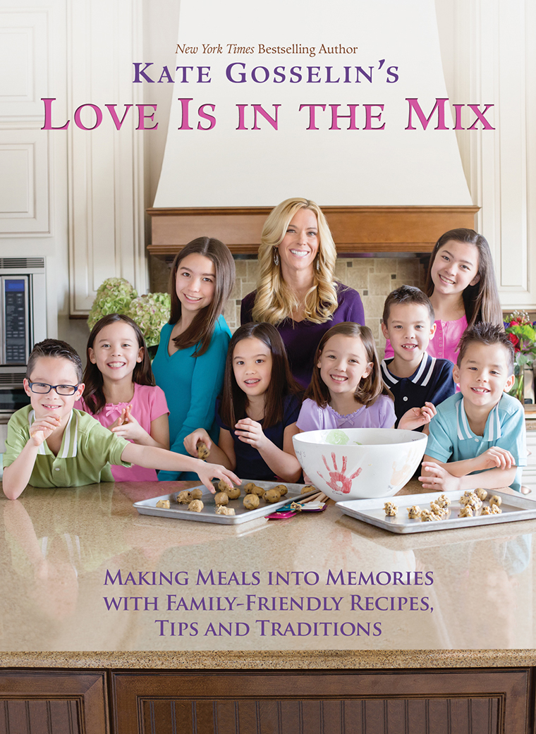 Kate Gosselin Cookbook